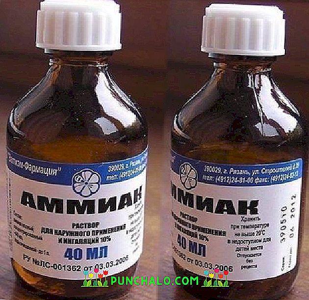 amoniakas nuo hipertenzijos