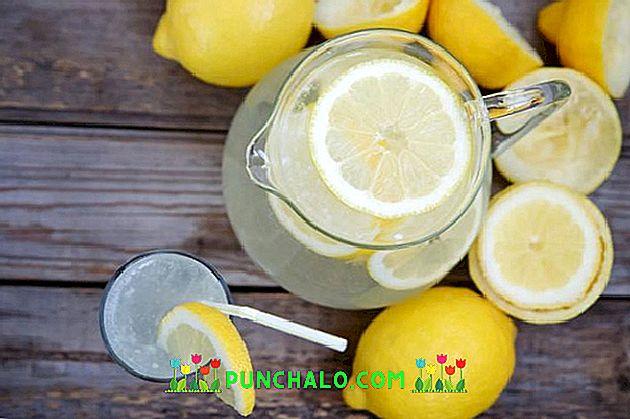 bevande per la perdita di peso con limone