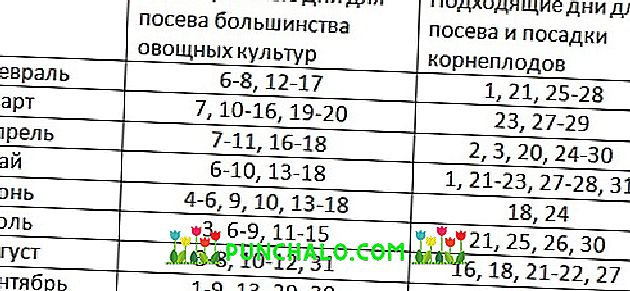 Calendario Lunar De Siembra.Calendario Lunar Jardinero Para Los Urales Para 2019 Siembra De