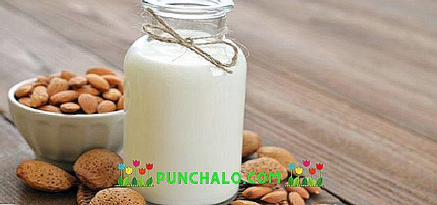 la leche de almendras causa estreñimiento